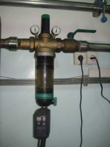 Установка умягчения и обезжелезивания воды для котельной